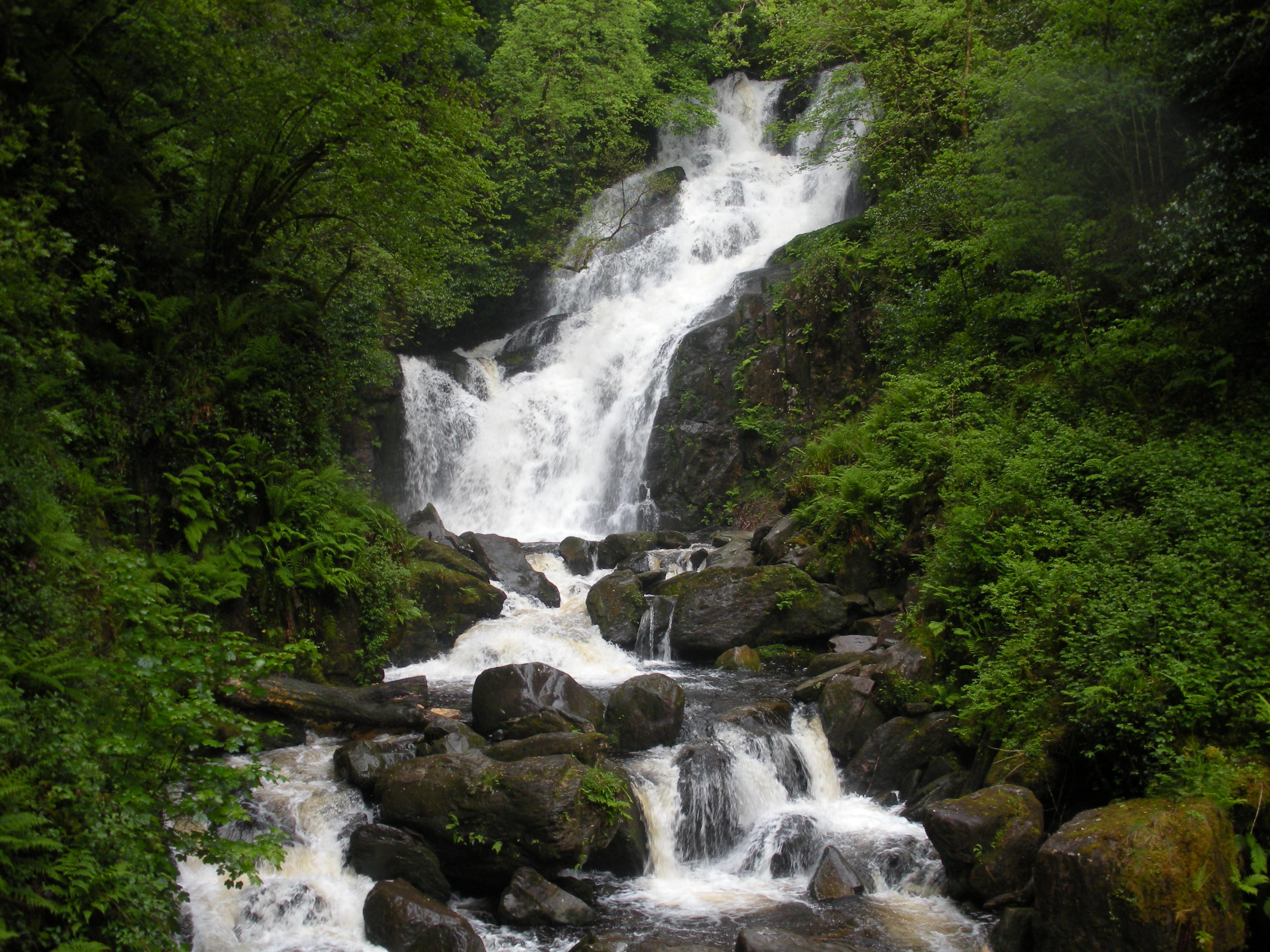 An Irish waterfall